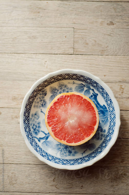 grapefruit  by Crissy Mitchell for Stocksy United