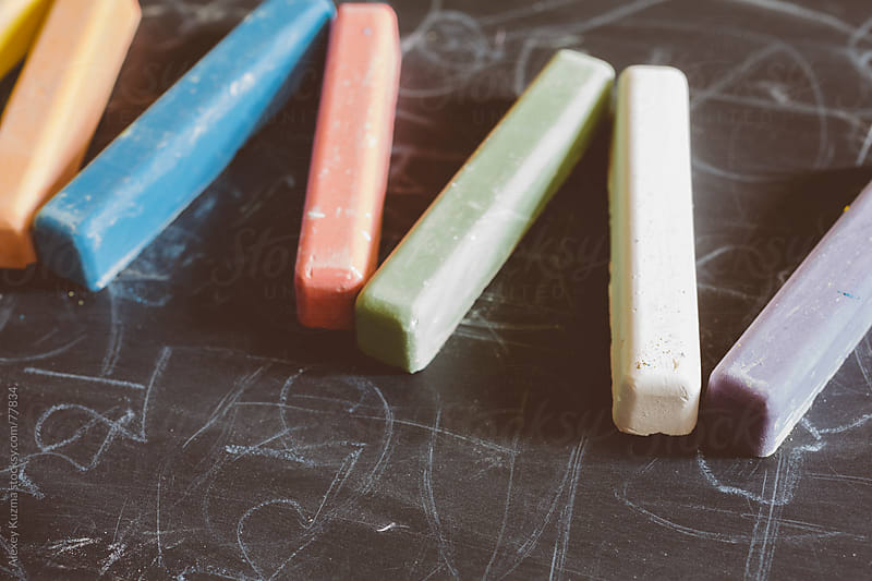 Multicolored Chalks by Alexey Kuzma for Stocksy United