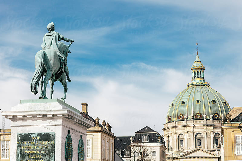 Amalienborg Palace by Zocky for Stocksy United