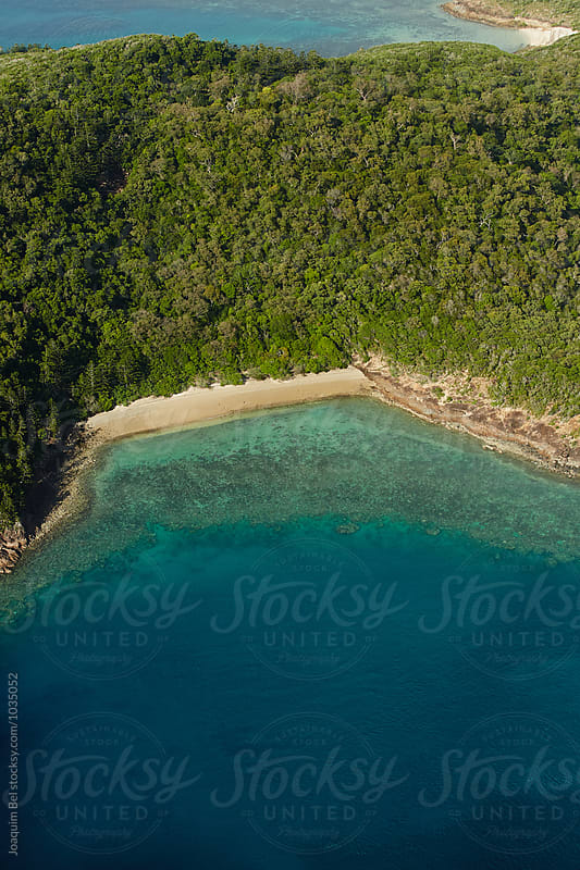 Secluded Inlet in the Whitsunday Islands by Joaquim Bel for Stocksy United