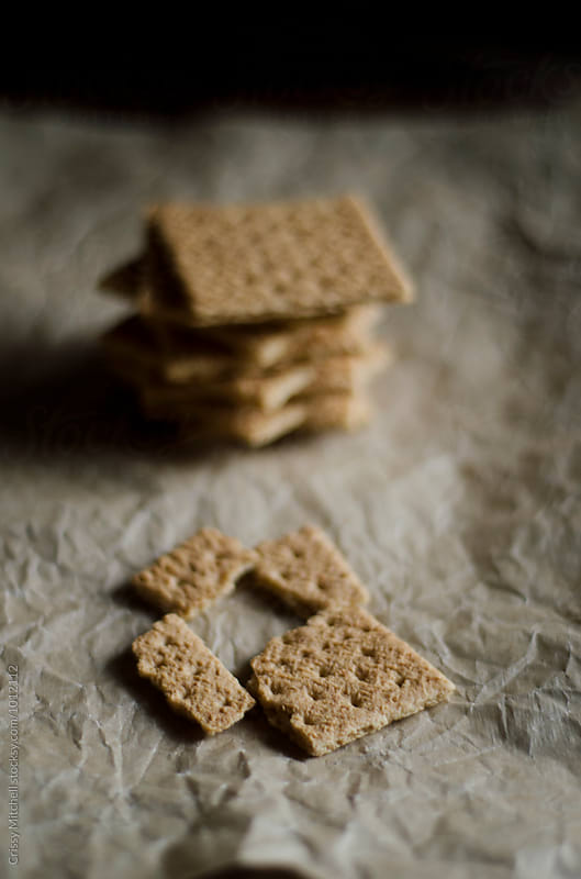 gram crackers by Crissy Mitchell for Stocksy United