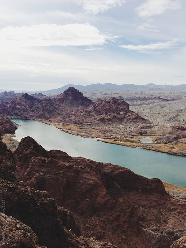 The Colorado River by Kevin Russ for Stocksy United