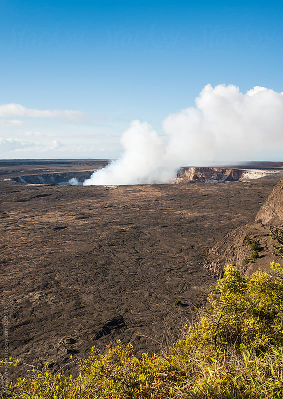Kilauea Caldera by Mark Windom for Stocksy United