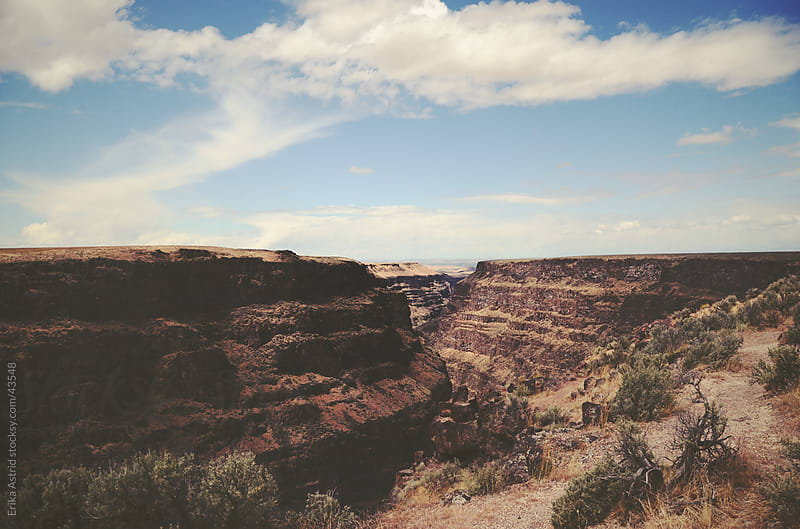 Endless Canyon by Erika Astrid for Stocksy United