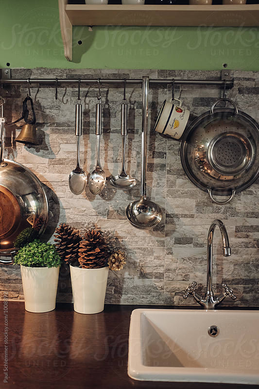 kitchen by Paul Schlemmer for Stocksy United