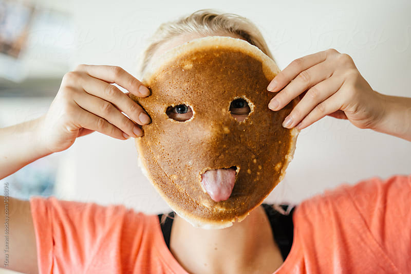 Pancake face by Tõnu Tunnel for Stocksy United