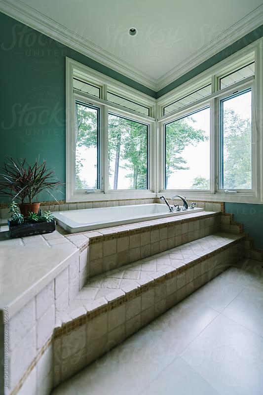 Luxury bathroom by Jen Grantham for Stocksy United