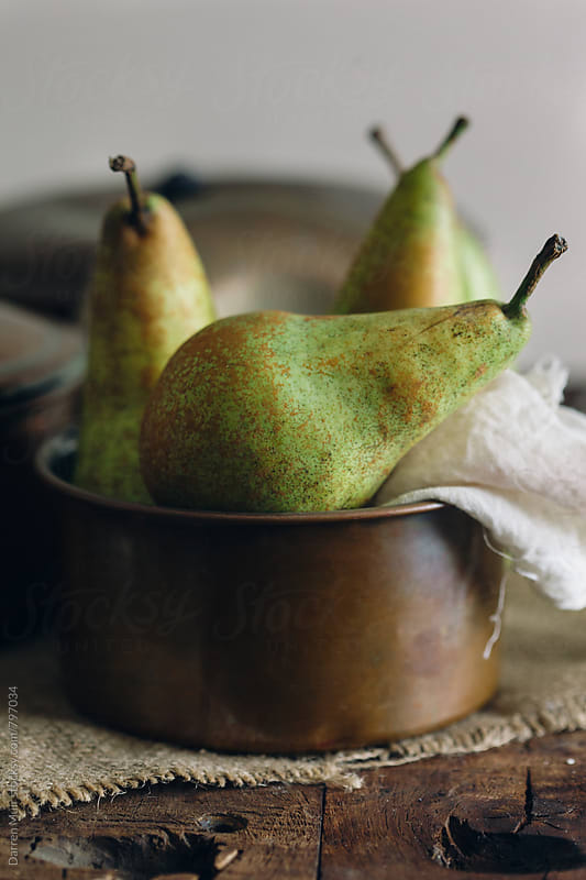 Organic pears. by Darren Muir for Stocksy United