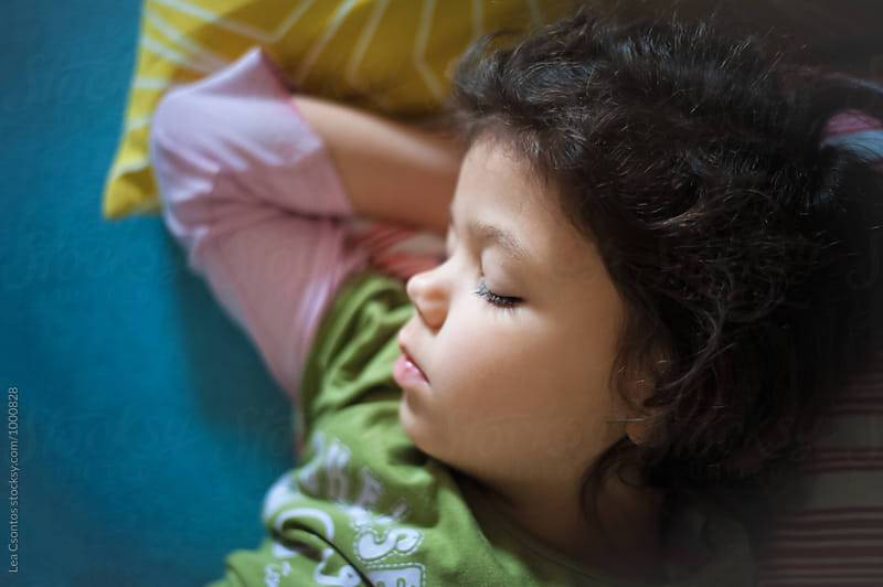 Little girl sleeping by Lea Csontos for Stocksy United