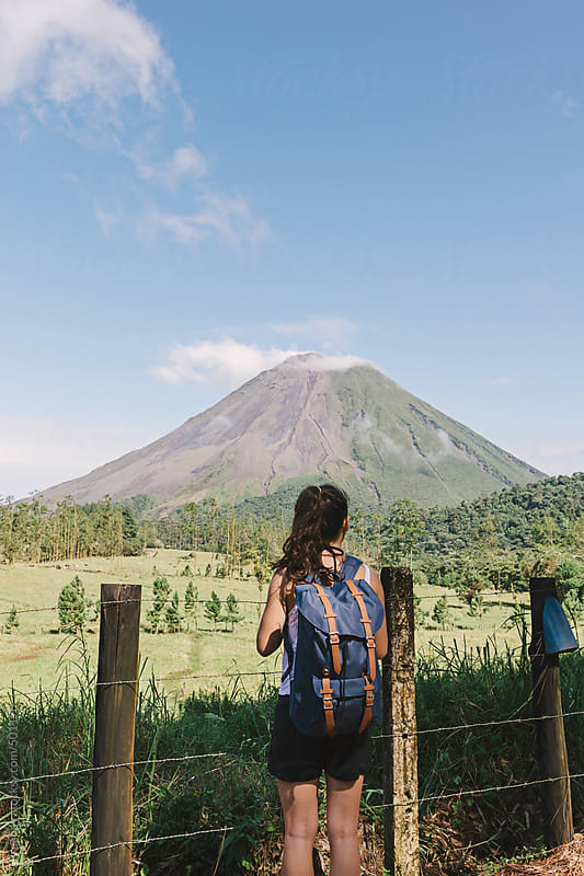 Arenal Volcano by Preappy for Stocksy United