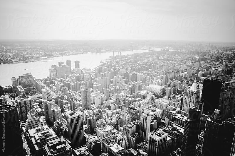 New York City Skyline - Fog by Vivienne Gucwa for Stocksy United