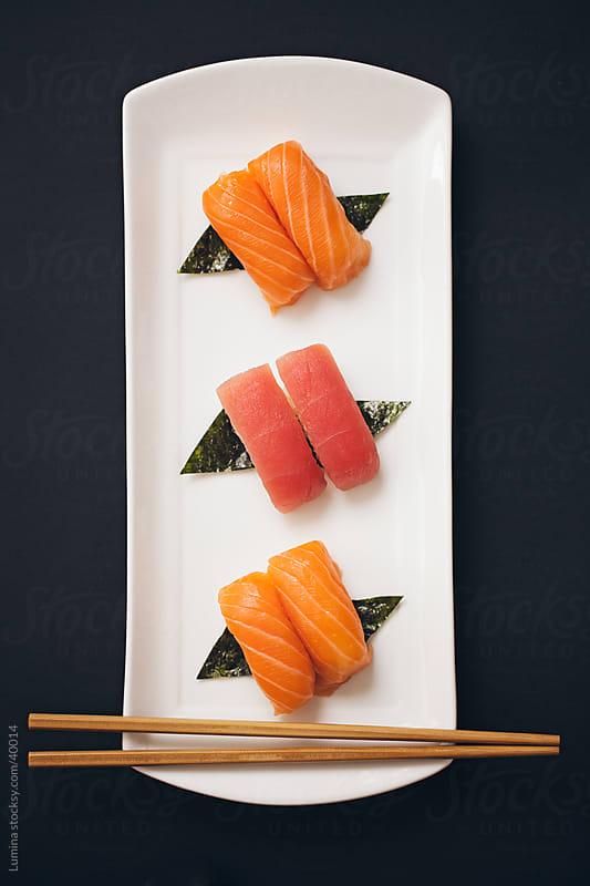 Nigiri Sushi by Lumina for Stocksy United