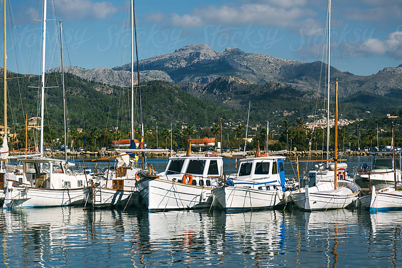 Puerto d'Andratx Village in Majorca, Spain by Victor Torres for Stocksy United