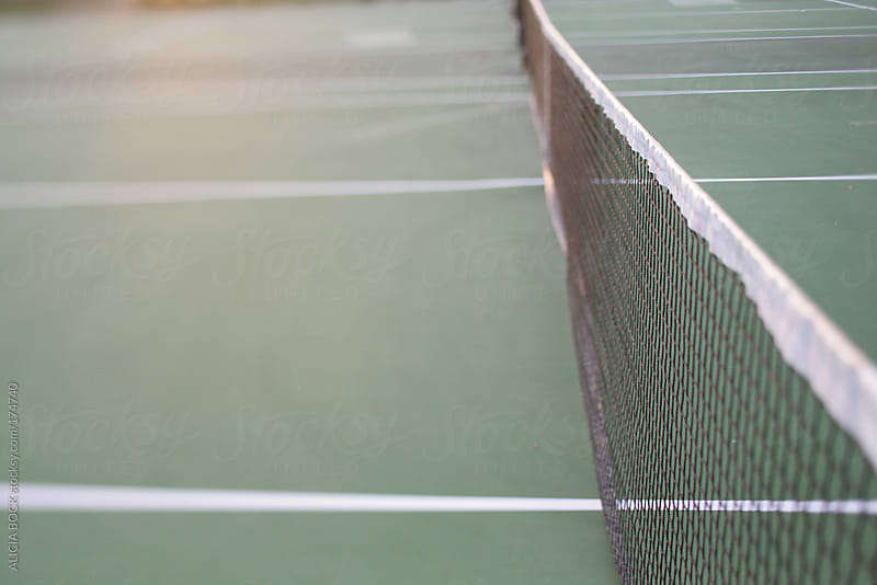 Tennis Court by ALICIA BOCK for Stocksy United