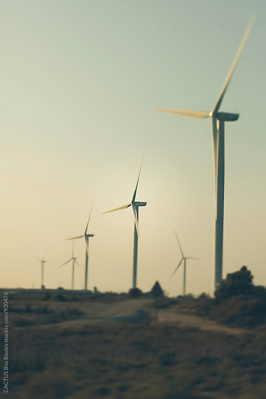 Windmill by Blai Baules for Stocksy United