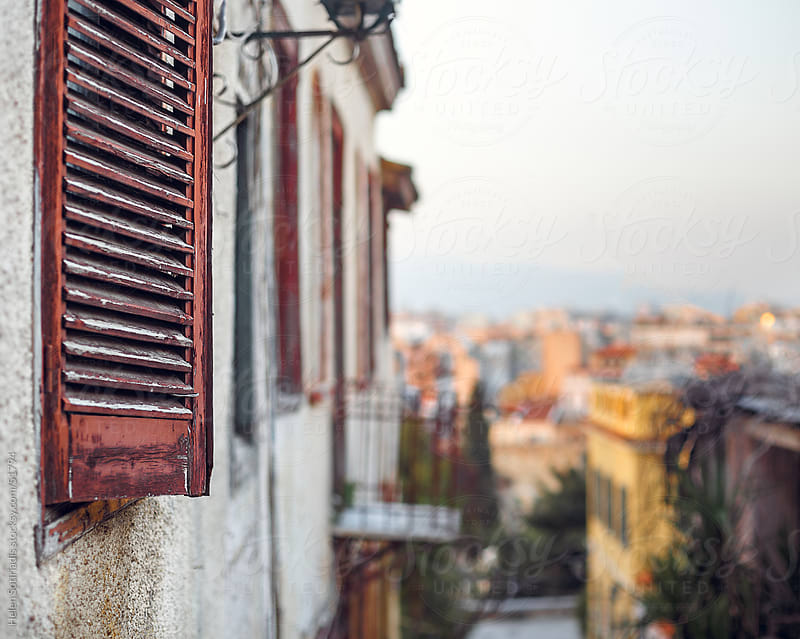 Details of Plaka, the historic center of Athens by Helen Sotiriadis for Stocksy United
