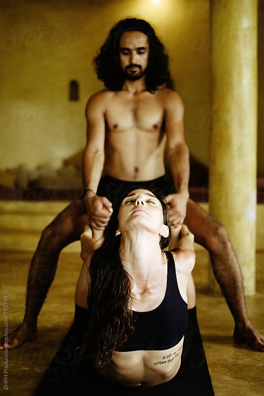 Yoga practise by Artem Zhushman for Stocksy United