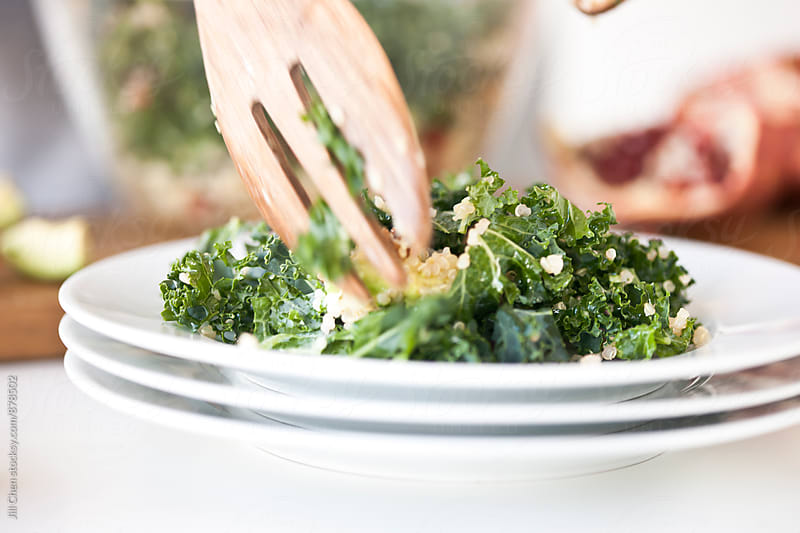 Kale and Quinoa Salad by Jill Chen for Stocksy United