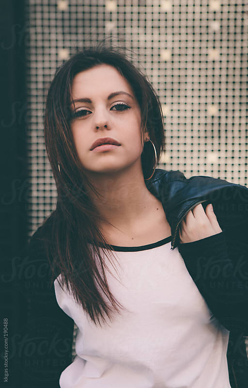 Young woman outdoors. by kkgas for Stocksy United