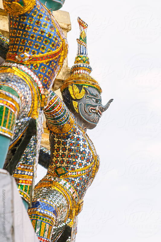 Thai Statue by Sam Burton for Stocksy United