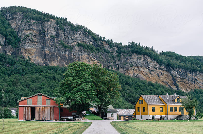 Old Norway farm by Tomas Mikula for Stocksy United