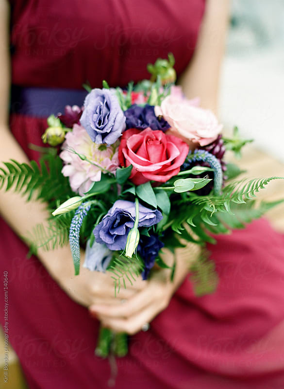 wedding bouquet by Kirill Bordon photography for Stocksy United