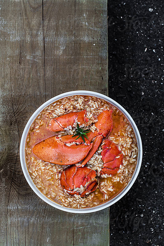 Rice with lobster by KEMA Food Culture for Stocksy United