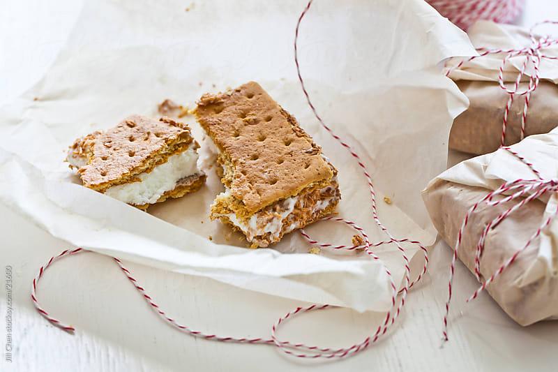 Coconut Ice Cream Sandwiches by Jill Chen for Stocksy United