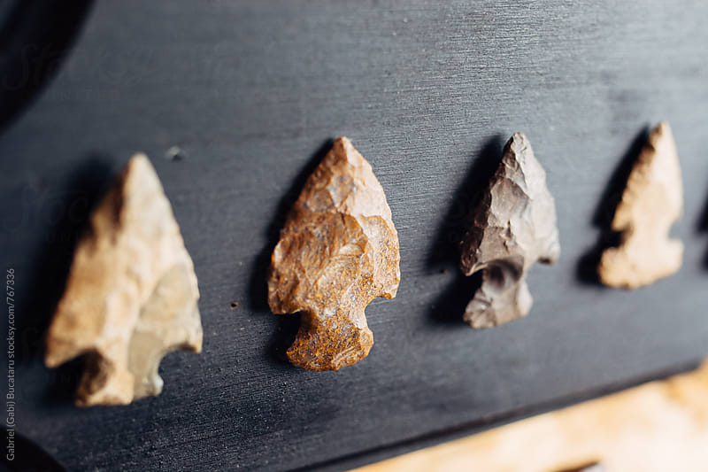 Stone Arrowheads by Gabriel (Gabi) Bucataru for Stocksy United