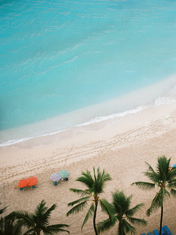 slice of waikiki beach by wendy laurel for Stocksy United