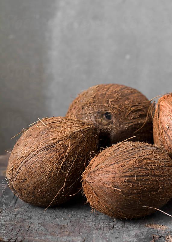 fresh coconut by Dobránska Renáta for Stocksy United