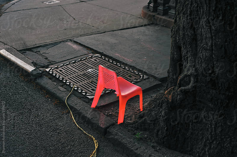 Street Chair, NYC by Shannon Aston for Stocksy United