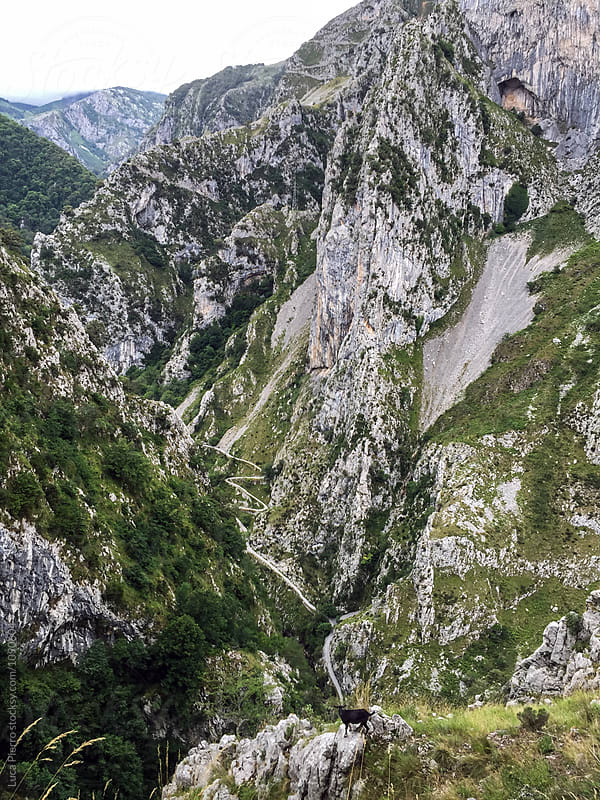 Senda de La Peña (Tresviso's Trail), Cantabria, Spain (Digital Version) by Luca Pierro for Stocksy United