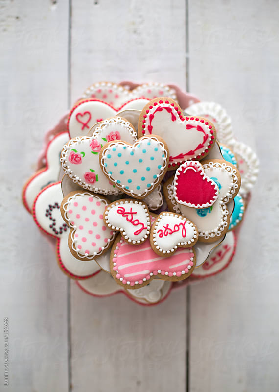 Heart Cookies by Lumina for Stocksy United