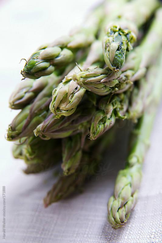 Asparagus bundle by Harald Walker for Stocksy United
