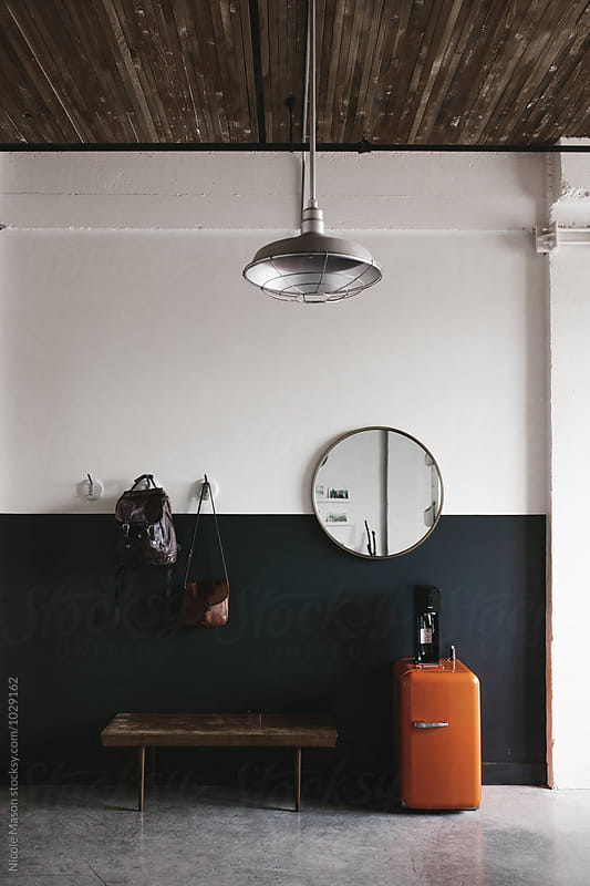 modern minimal artistic office space by Nicole Mason for Stocksy United
