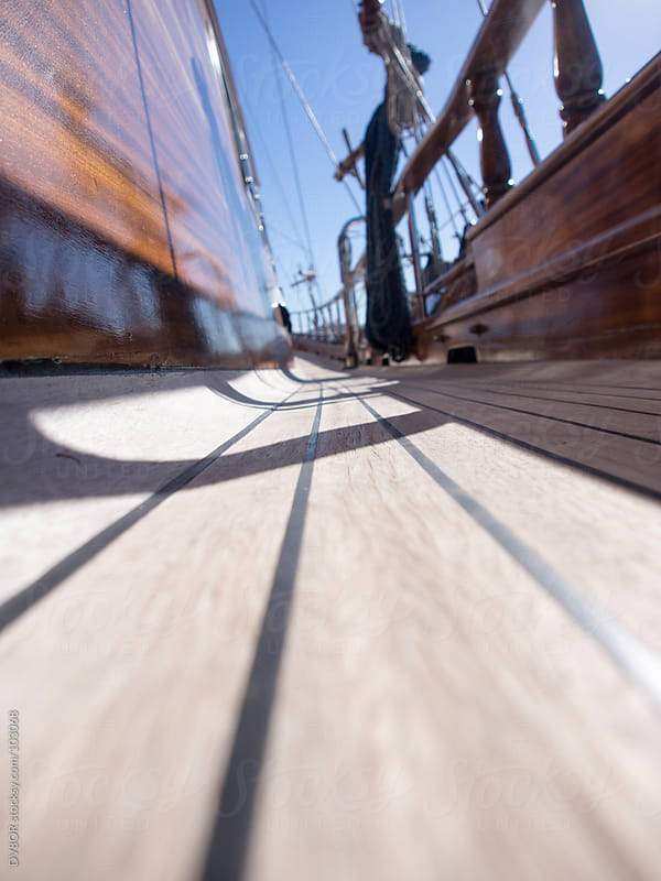 View of a Traditional Turkish Gulet boat deck by DV8OR for Stocksy United