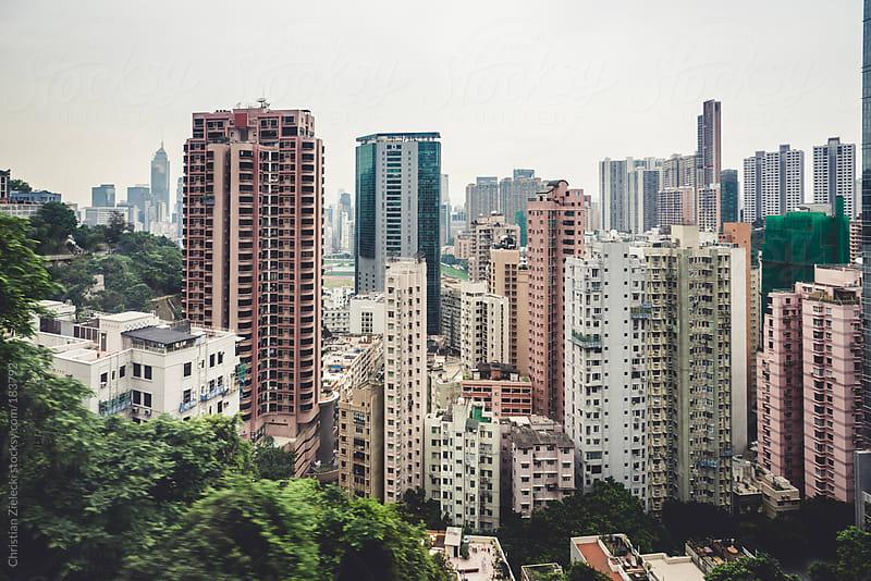 Skyscraper of a metropolis by Christian Zielecki for Stocksy United