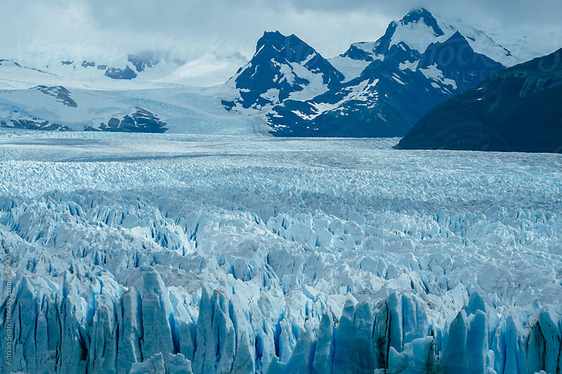 Perito Moreno Glacier by Adrian Seah for Stocksy United