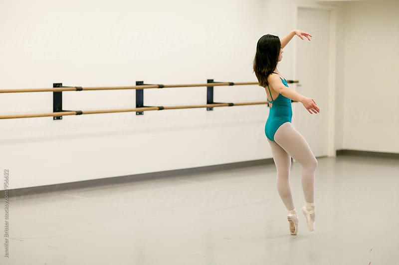 Female dancer  by Jennifer Brister for Stocksy United