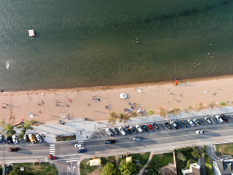 Beach From Above by Ronnie Comeau for Stocksy United