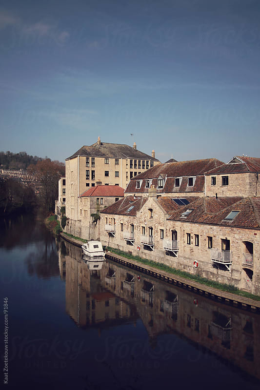 The river Avon in Bath, England by Kaat Zoetekouw for Stocksy United