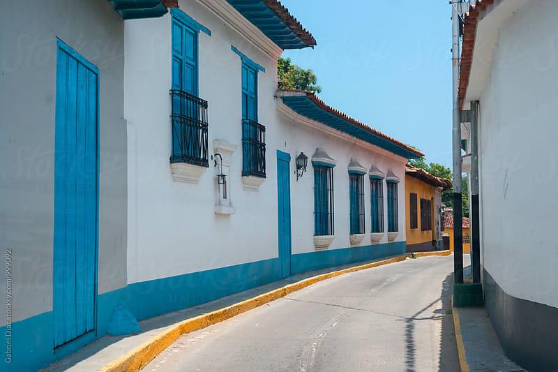 panish colonial house. Choroni. Venezuela by Gabriel Diaz for Stocksy United