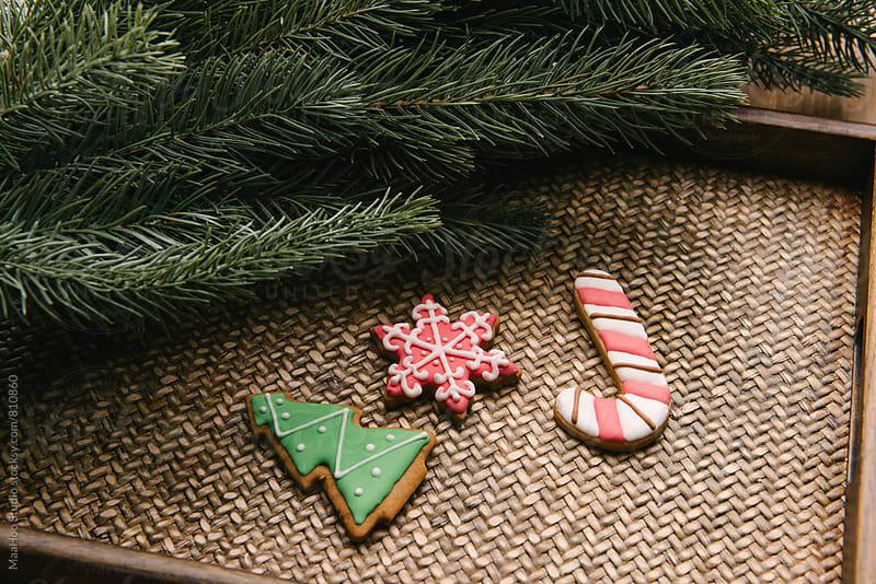 Christmas cookies by MaaHoo Studio for Stocksy United