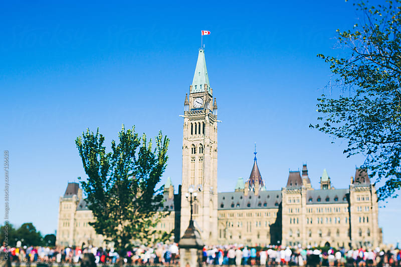 Canadian Parliament by Good Vibrations Images for Stocksy United