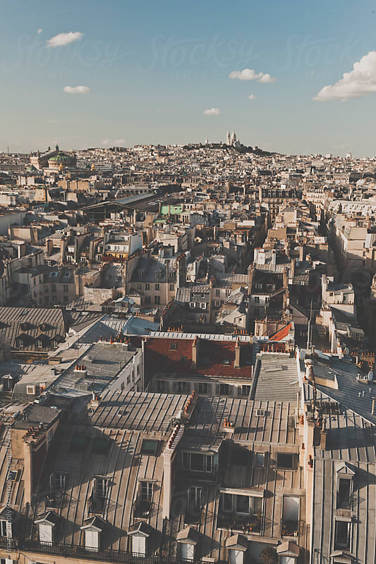Paris Cityscape by Image Supply Co for Stocksy United