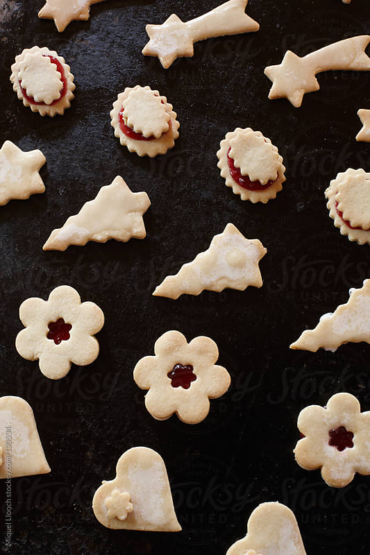 Christmas cookies shapes by Miquel Llonch for Stocksy United
