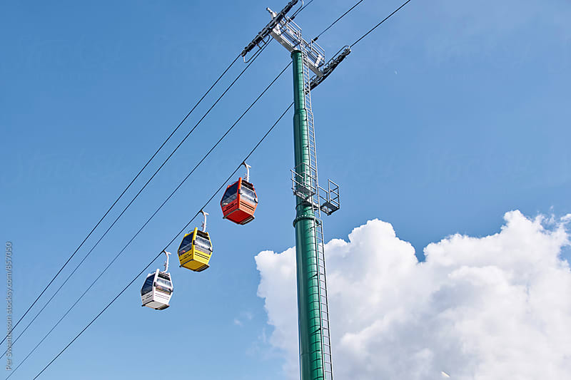 Cable car lift by Per Swantesson for Stocksy United