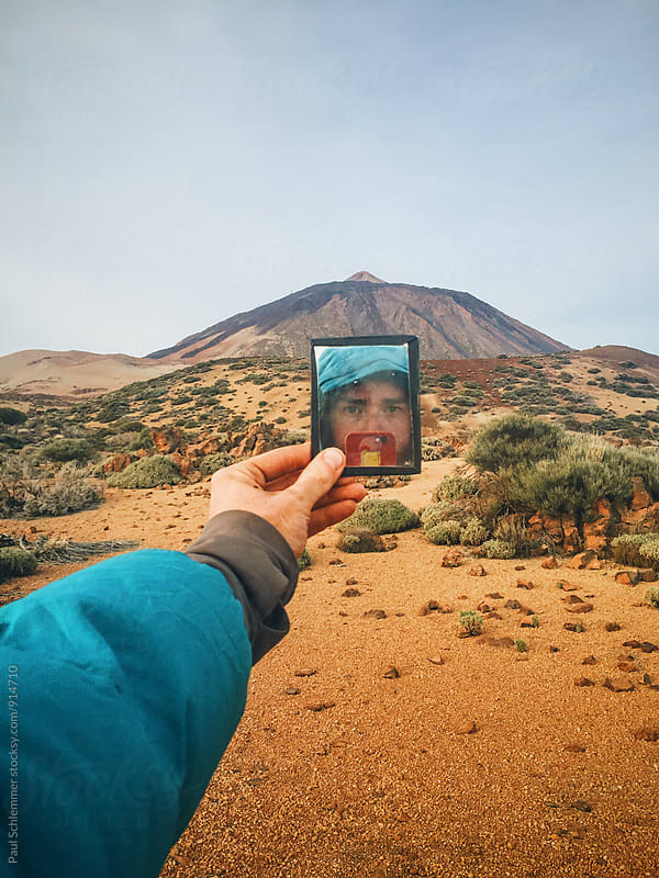 I and Teide by Paul Schlemmer for Stocksy United