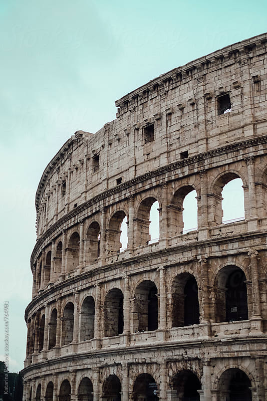 Colosseum in Rome, Italy by Katarina Radovic for Stocksy United
